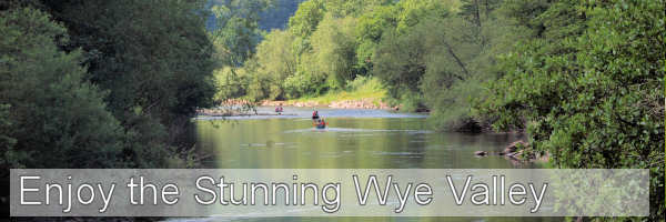 Enjoy the stunning Wye Valley